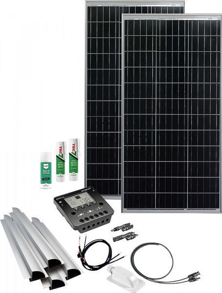 Solaranlage Caravan Kit Base Camp Perfect CML20 240 W / 12 V