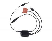 TMC Receiver inkl. Adapter zur Fiat Lenkradfernbedienung
