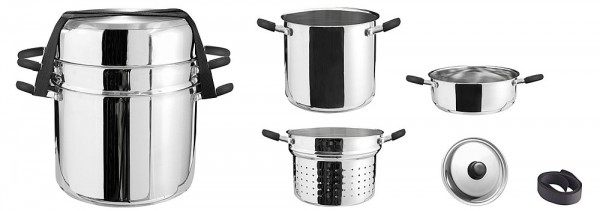 Cookware Academi Inox 4 u 1 - Kattilat ja pannut - 9983946 - 1
