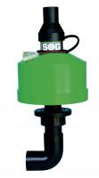 Toilettenentlüftung Bodenvariante Typ H für Thetford C 220