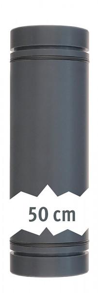 Rohr 40 mm x 50 cm beidseitig mit 0-Ringen