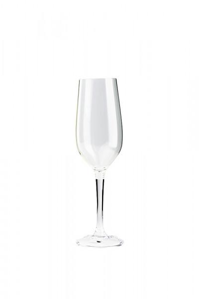 Champagnerglas mit abschraubbarem Fuß 2er Set