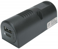 Aufbau-Power USB-C/A Doppelsteckdose EV 3,6 A 12-24 V