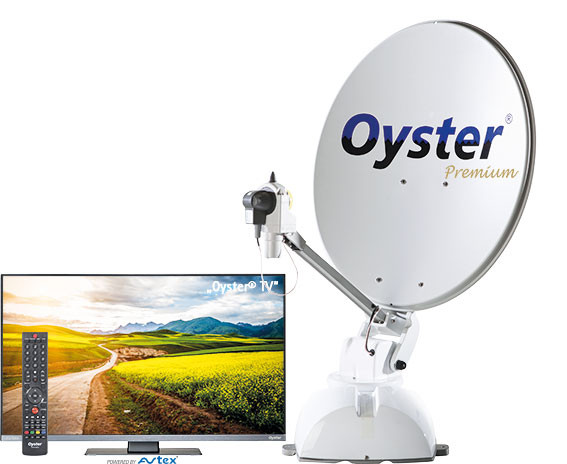 Satanlage Oyster 65 Premium inkl. Oyster TV
