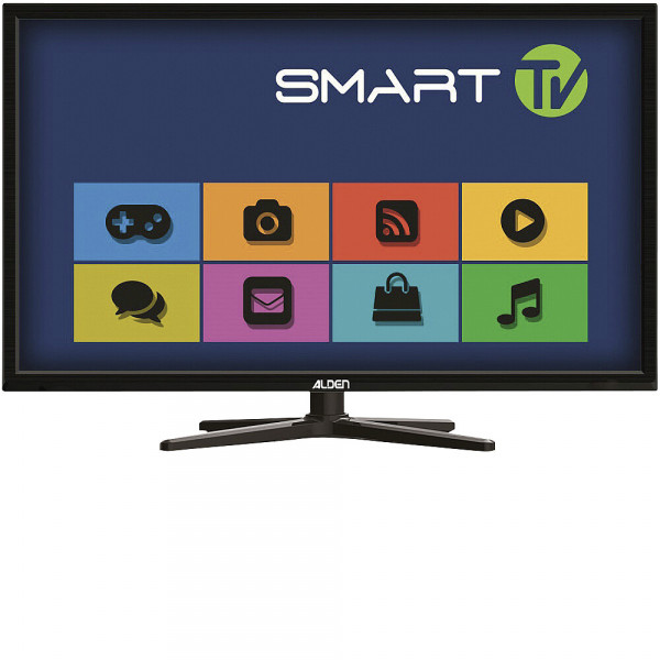 Smart TV-Paket: AS2 80 HD Platinium, S.S.C.® HD-Steuermodul, SMARTWIDE LED TV 24 Zoll