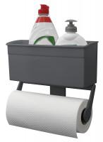 Aufbewahrungsbox mit Papierrollenhalter