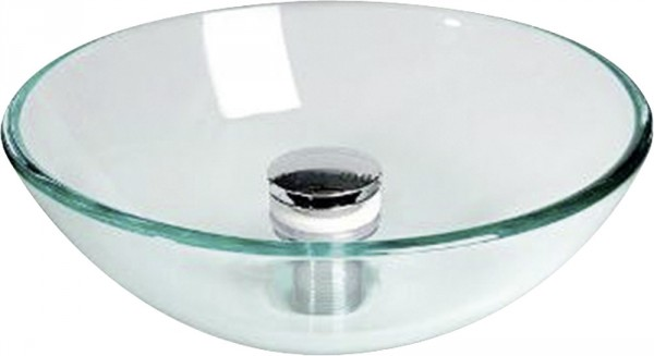 Glass sink, Diameter 280mm, - Vesitankit ja varusteet - 9933771 - 1