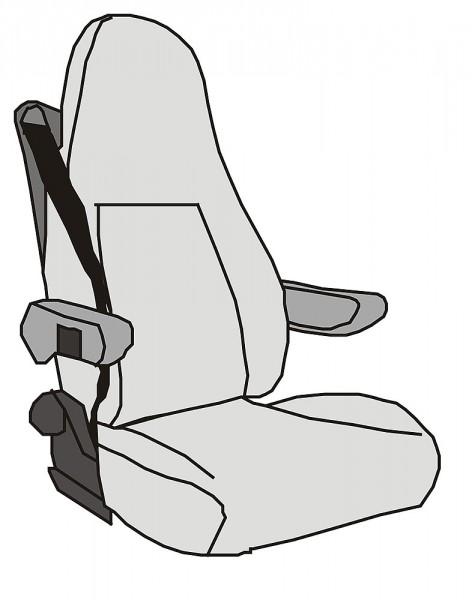 Istuinsuoja Aguti Sitz GIS-Liner penkki - Istuinsuojat - 9969272 - 1