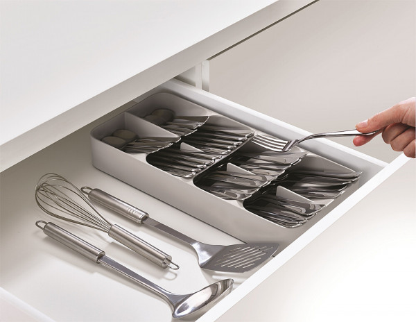 Besteckkasten DrawerStore kompakt Fb grau
