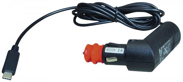 Ladekabel Kfz mit USB - C Stecker 12 - 24 V Kabellänge 1,8 m
