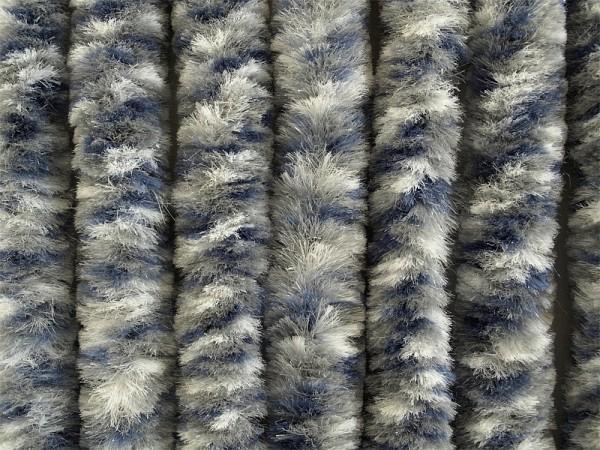 Oven pörröverho 56x185 cm 3 värinen - Hyttysovet.verhot, pompulaverhot, verkot - 9965115 - 5
