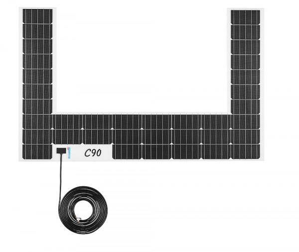 Solarmodul C-Form