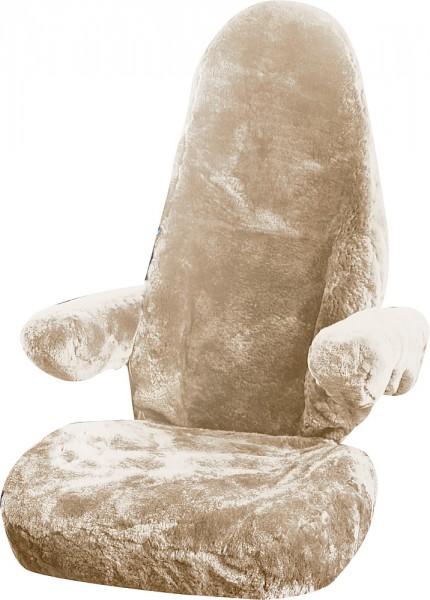 Slipcove beige karitsannahka istuinsuoja - Istuinsuojat - 9914260 - 2