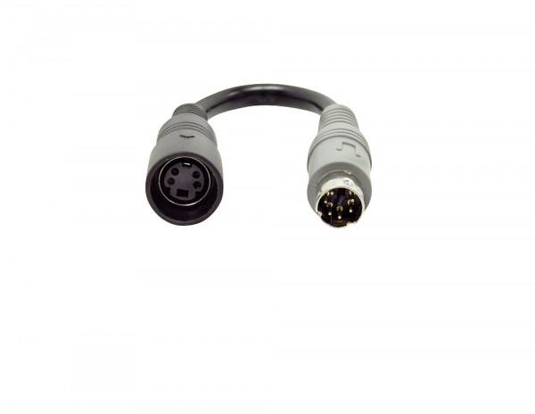 Safety Kameraadapter 4 pol. Kupplung / 6 pol. Stecker für Pössl