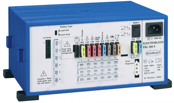 Elektroblock EBL und Anzeigepanel LT 453