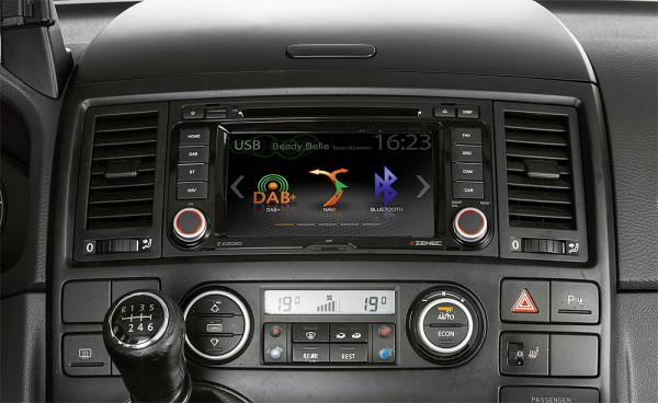 Infotainer Z-E2060 E_GO 6,5 Zoll für VW T5 Multivan / California