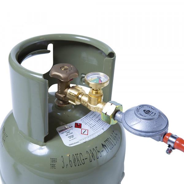 GasStop Notschlussarmatur für Propangasflaschen Version Deutschland