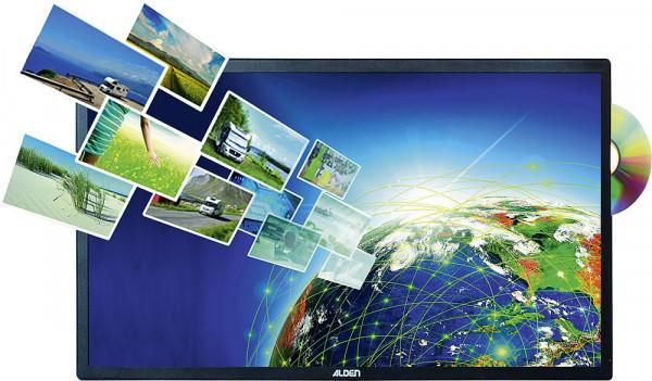 Satanlage AS2 60 Platinium inkl. HD-Steuermodul und Smartwide LED TV