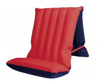 Sitz-/Liegematratze blau/rot