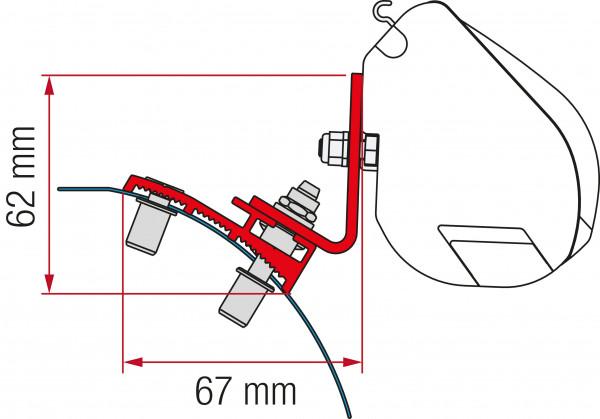Adapterkit 2-tlg. PSA F35 ab 2016