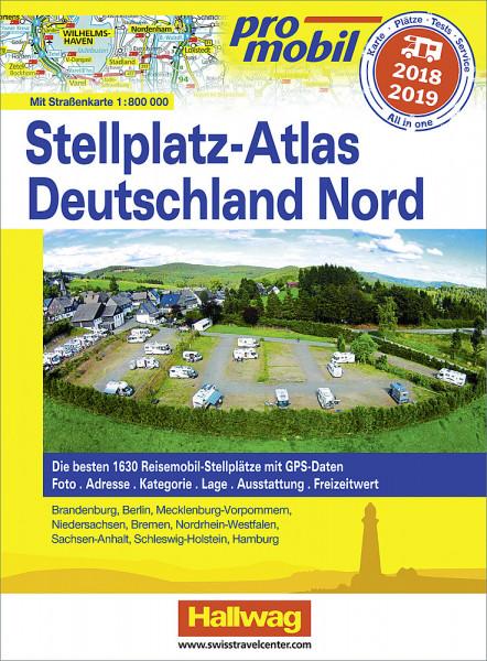 Stellplatz-Atlas Promobil Deutschland Nord 2018 / 2019