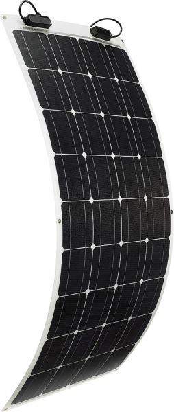 Solarmodul TSPF110 halbflexibel mit Verlängerungskabel 5 m inkl. Zubehörkit für 1 Batterie