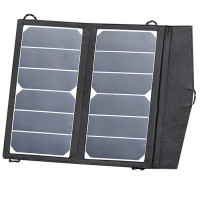 Solarmodul Kit Trek King 12 V 2 x 7 W