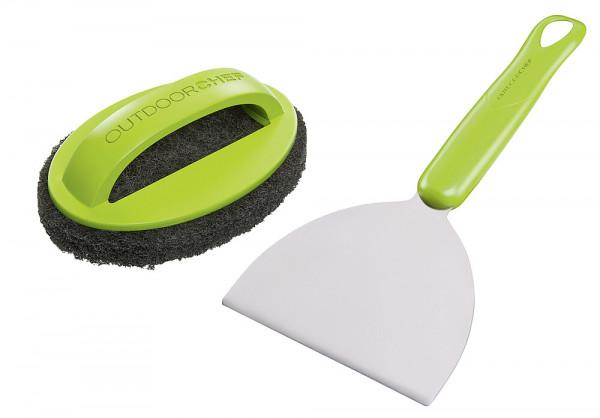 Reinigungsset Plancha 2-teilig