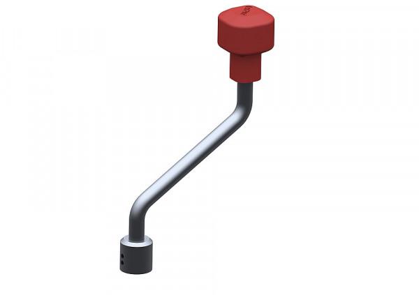 Handkurbel zu Stützrad Plus Vollgummi/Kunststofffelge und Stützrad Plus Vollgummi/Blechfelge