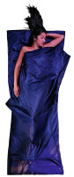 Leicht-Reiseschlafsack 220 x 90 cm tuareg Seide / Baumwolle