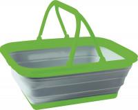Faltkorb Reducta 16 l grau/grün