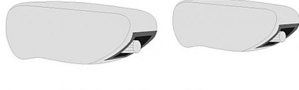 Käsinojan suojat M + S penkkiin lammasta - Istuinsuojat - 9914088 - 2