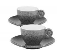 Espresso Set Melamin Classic Line Granite
