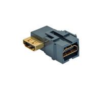Verbinder HDMI gewickelt, schwarz