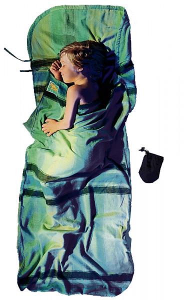 Leicht-Kinderschlafsack 180 x 76 cm african rainbow Baumwolle/Flannel