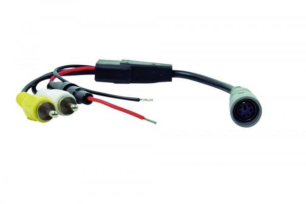 Safety Monitoradapter 6 pol. Kupplung/Cinch für Pössl