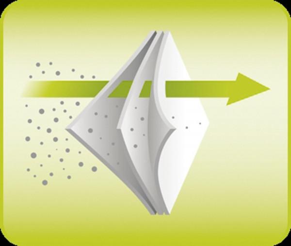 Ersatzfilter nanoCLEAN weiß