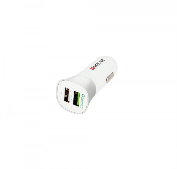 Auto Adapter Dual USB Quick Charge 3.0