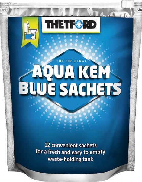 AGUA KEM Tehtford Blue sachet bags, WC hajotusaine - WC-nesteet. pussit ja muut aineet - 9920505 - 2