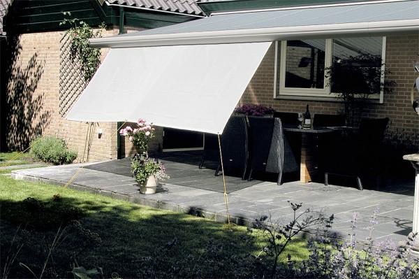 Universal Sun Blocker für Markisen 300 x 140 cm hellgrau