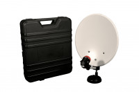 Campingkoffer Mobile Sat-Anlage inkl. LNB und Kabel