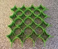 Alleshalter, Set 16 Stück, grün