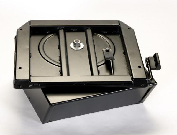 Drehkonsole mit Safe f. VW T5/T6 Originalsitz