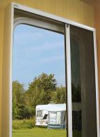 Fliegenschutztür für fast alle Wohnwagen und Reisemobile