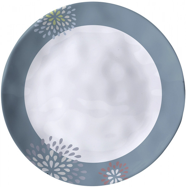 Essteller Belfiore Durchm. 25 cm weiß/blau/grau