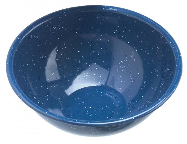 Müslischale Emaille Durchmesser 15,5 cm, blau