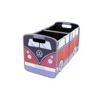 Faltbox VW T1 Bus rot/schwarz