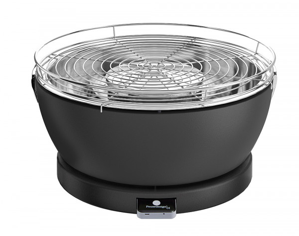 Pöytägrilli Feuerdesign Vesuvio anthrazi - Grillit hiili,prikettit, puristeet - 9951449 - 1