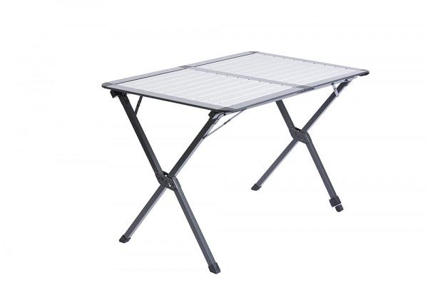 Rolltisch Porto anthrazit/silber