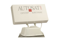 Satanlage AutoSat Light mit Einknopf-Bedienteil, 1 Satellit